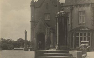 Image of Swansea University's Singleton Abbey in the 1930s. Image courtesy of Richard Burton Archives